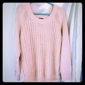 Calvin Klein Shimmery Pink Sweater